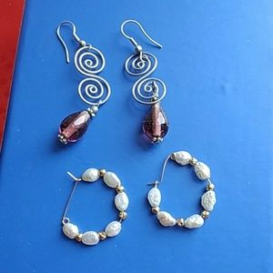 Jewelry - BUNDLE - 2 Earrings
